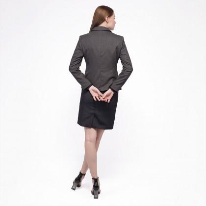 Nicole Exclusives - Classic Blazer - Grey